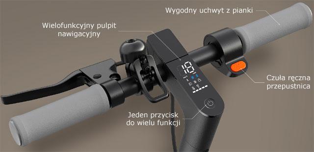 Wielofunkcyjny wyświetlacz (Xiaomi Mi Electric Scooter Essential)